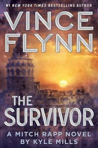 The latest Mitch Rapp book, The Survivor, comes out on 10/06/2015!